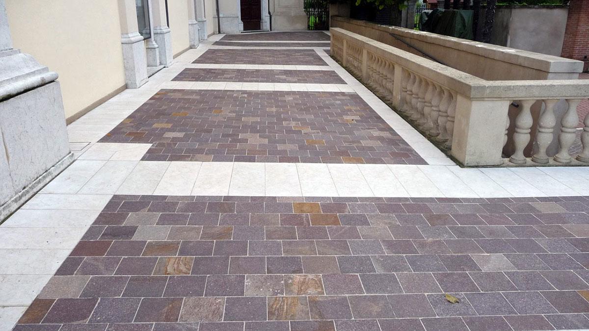 Pulizia lucidatura e trattamento ravvivante pavimenti in - Pulizia pavimenti esterni ...