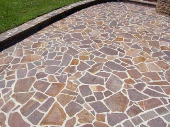 Pulizia lucidatura e trattamento ravvivante pavimenti in porfido cristallina levigatura e - Piastrelle in porfido prezzi ...